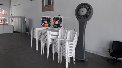 Aluguel De Mesas, Cadeiras, Toalhas, Tenda, Toldo, Freezer