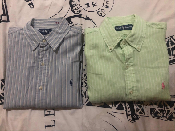 2 Camisas Ralph Lauren Talla Mediana Hombre