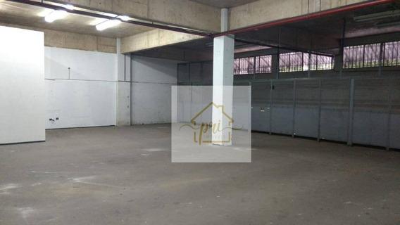 Galpão Para Alugar, 3479 M² Por R$ 30.000,00/mês - Macuco - Santos/sp - Ga0031