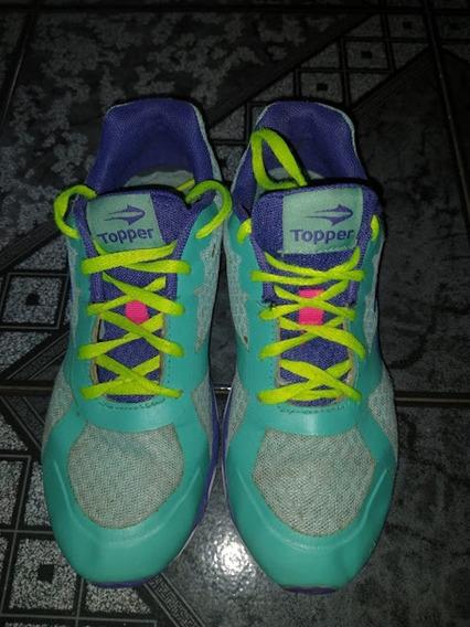 Vendo Zapatillas Topper Casi Nuevas Número 34 Unisex
