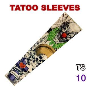 6 Pcs Ciclismo Deportes Kits De Mangas De Tatuaje Uv Cool Cy