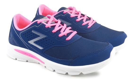 Tênis Feminino Zeus Macio E Confortável Esportivo Caminhadas