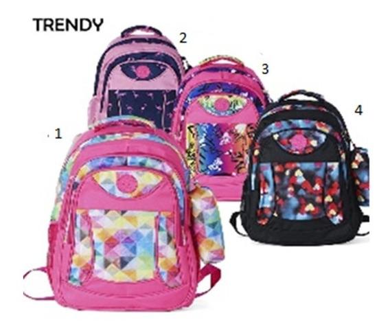 Mochila Escolar Reforzada Nena Original Trendy + Regalo