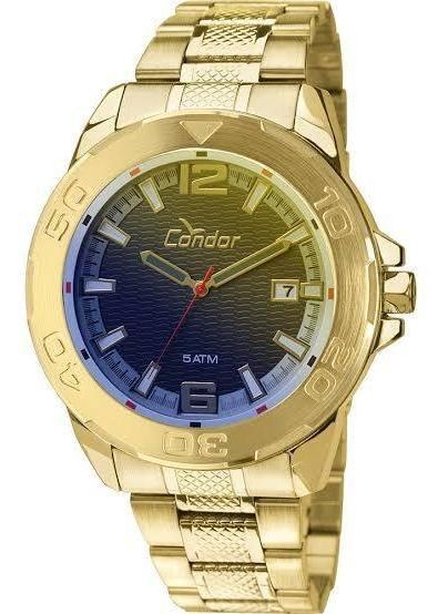 Relógio Condor Camaleão Dourado Co2415ak Original Nf