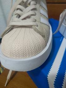 Tênis adidas Superstar Original Tam. 35 Cor Rosé Seminovo