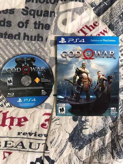 God Of War Ps4 Mídia Física Usado