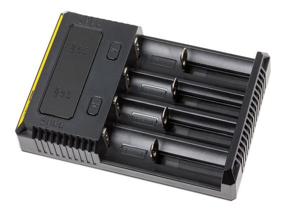 Carregador Nitecore I4 Inteligente Para Pilhas E Baterias