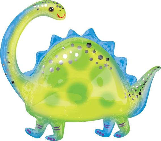 Globo De Dinosaurio Brontosaurio (calidad Helio)