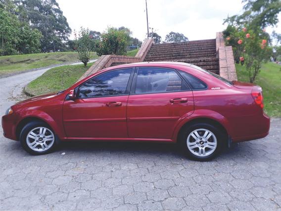 Chevrolet Optra Rojo