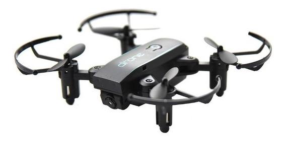 Mini Drone Dobrável Rc Drone Wifi Fpv Câmera 480p Completo