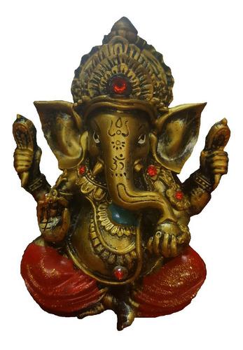 Imagen 1 de 1 de Figura De Ganesha 12,5 Cm