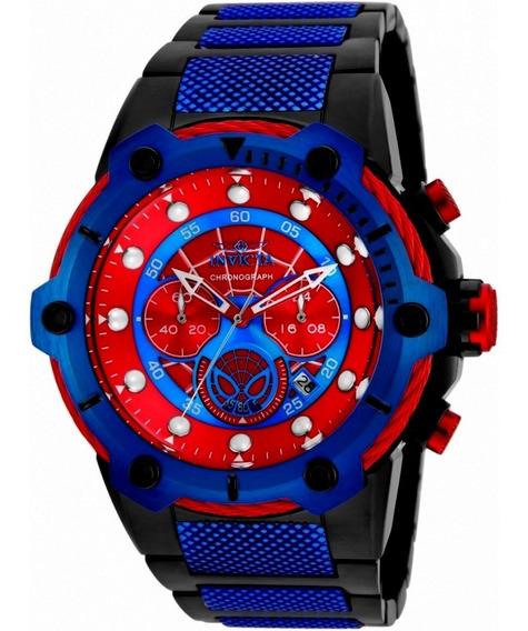 Relógio Invicta Marvel Spider Man Edição Limitada..25782.