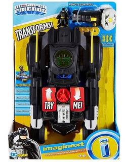 Batman Imaginext Batmobile Batimovil Rc Control Remoto Dc