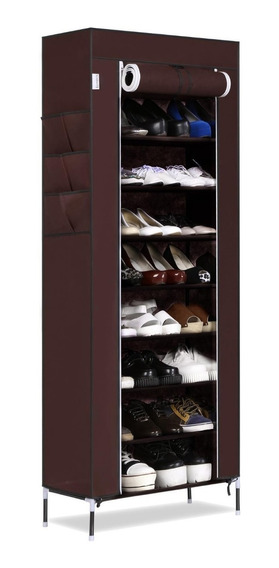 Mueble 9 Rack Zapato Moderna Zapatera Organizador Armario