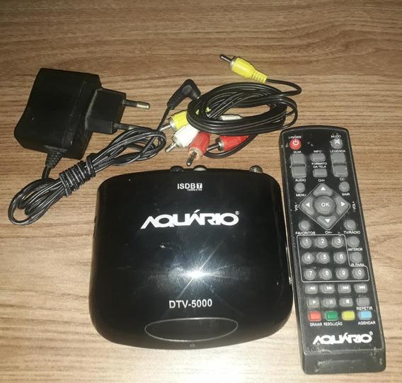 Conversor E Gravador Digital De Tv Full Hd Aquário Dtv-5000