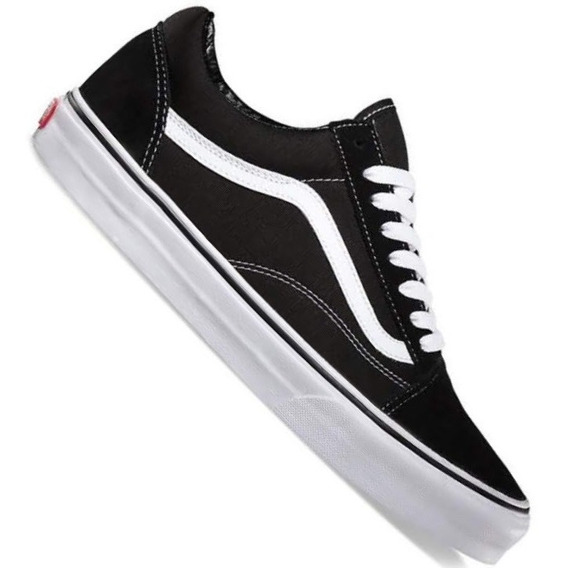 Zapatillas Vans Old Skool Originales Blanco/negro