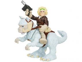 Bonecos Stars Wars Heróis Han Solo Moto Animais Criança