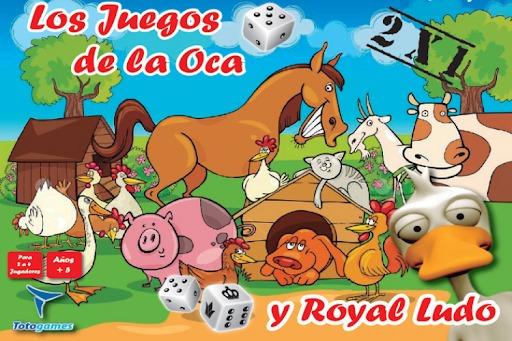 El Juego De La Oca Y Royal Ludo - Juego De Mesa - Toto Games