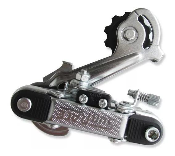 Cambio De Bicicleta Traseiro Sunrace 6-7v Sem Gancheira M10