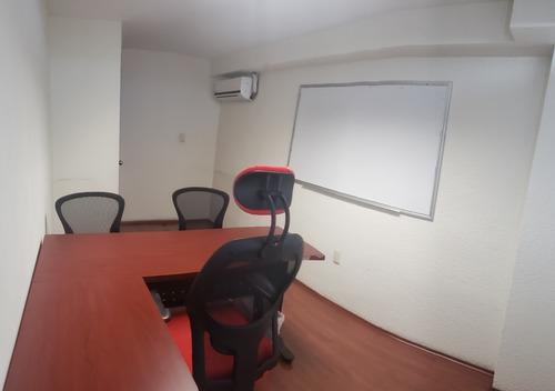 Imagen 1 de 7 de Oficina Sin Aval Del Valle, Cdmx. Amuebladas. Tour 360