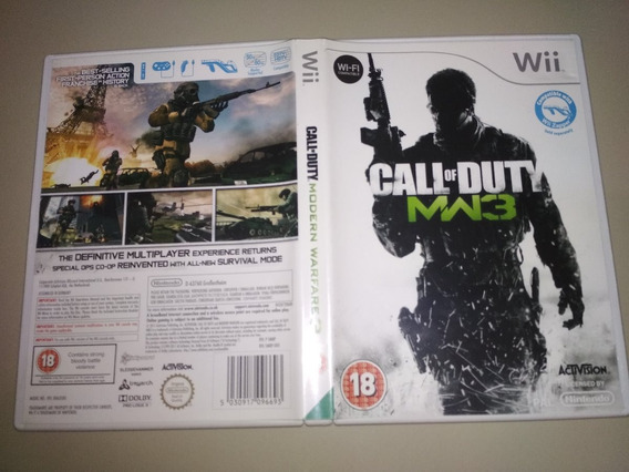 Jogo Wii Original - Call Of Duty Modern Warfare 3