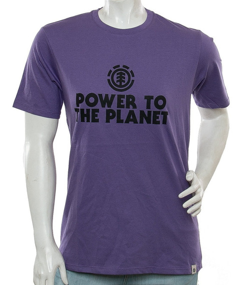 Remera Power To The Pl Element Fluid Tienda Oficial