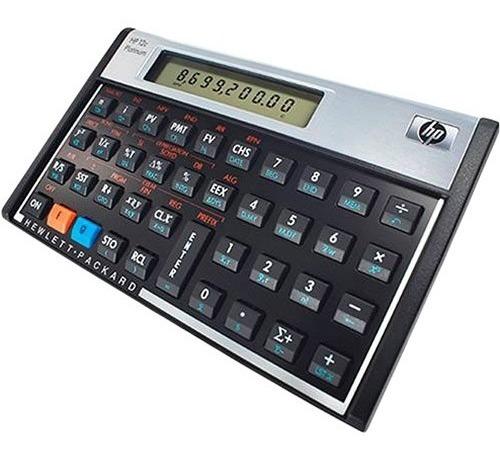 Calculadora Financeira Hp 12c Platinum Original Lacrada + Nf