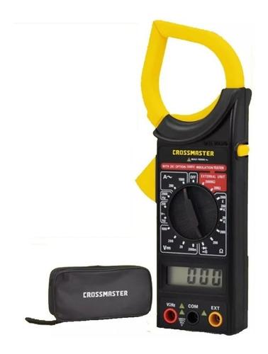 Imagen 1 de 9 de Pinza Amperometrica Digital 750v Crossmaster Estuche 9936591