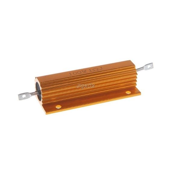 Resistor De Alta Potência 100 Ohms 100w (05 Peças)