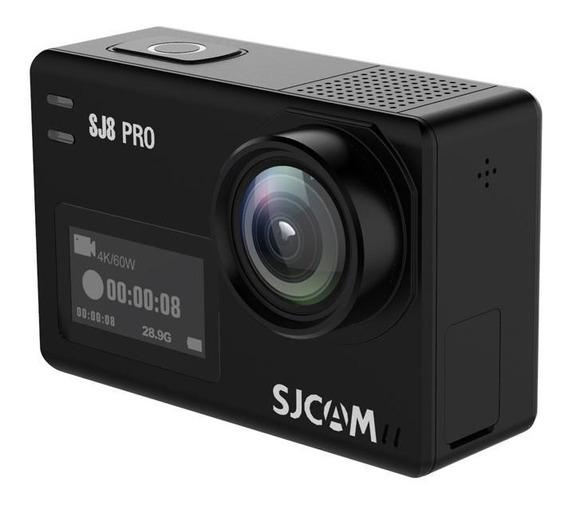 Câmera De Ação Sjcam Sj8 Pro Original + Microfone Externo