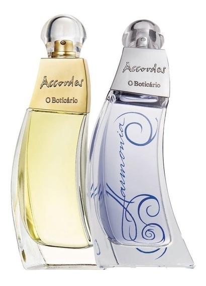 Accordes Harmonia + Accordes Tradicional Boticário Perfume