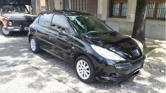 Peugeot 207 Compact Xt 1.6 5 Puertas Negro