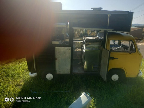 Vw/kombi Pick Up - 1992/1993 - Food Truck - Amarela