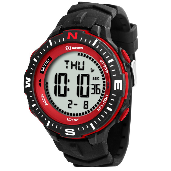 Relógio X Games Masculino Vermelho Xmppd346 Bxpx