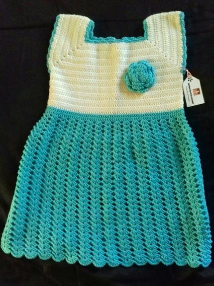 Vestido Crochet Bebe Vestuario Y Calzado En Mercado Libre