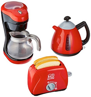 Playgo Mi Coffee Fabricante Mi Toaster Tea Hora Colección Ke