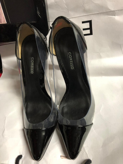 Sapato Scarpim Social Preto