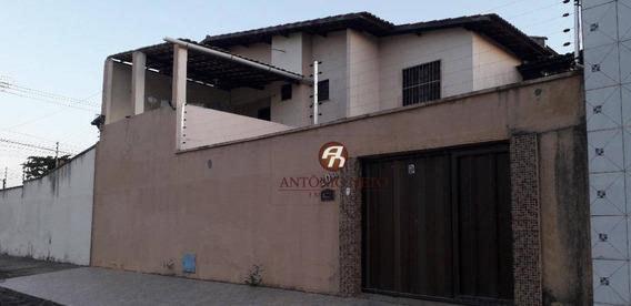 Casa Com 4 Dormitórios À Venda, 140 M² Por R$ 190.000 - Prefeito José Walter - Fortaleza/ce - Ca0175