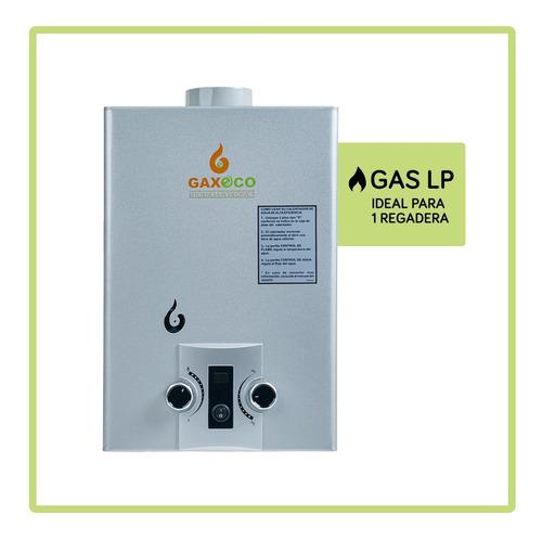 Calentador De Agua Instantáneo Gaxeco Eco-6000 Gas Lp