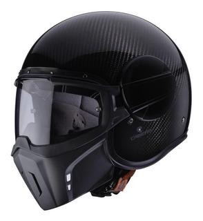 Casco Caberg Jet Ghost Carbon Negro