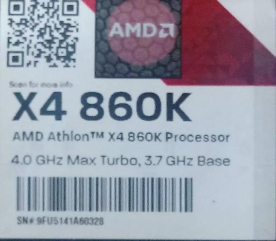 Processador Amd X4 860k - 3.7ghz 4.0 Ghz Turbo