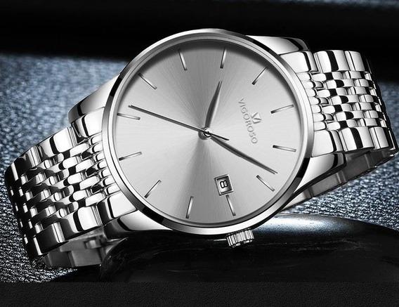 Relógio Super Luxo Social Vigoroso Importado A Prova D