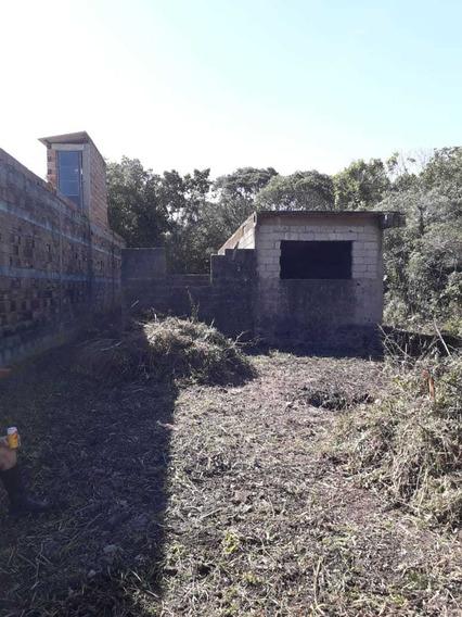 Terreno De 145mts Com Escritura E Uma Casa Em Construção