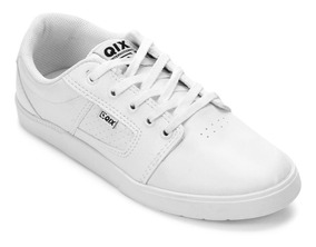 Tênis Qix Lg Skate Branco Masculino Original