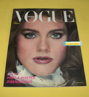 Katherine Williams Jaclyn Smith Revista Vogue Mexico 1982