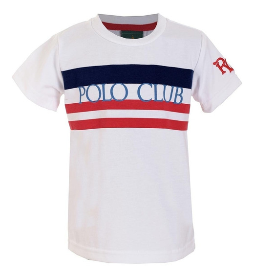 Playera Niño Royal Polo Club
