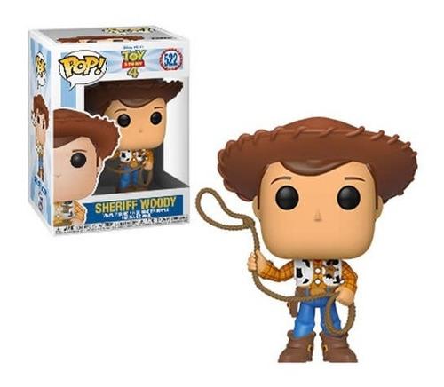 Imagen 1 de 1 de Figura Funko Pop, Sheriff Woody - 522 - Toy Story 4