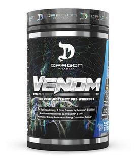 Pre Entreno Dragon Pharma Venom 40 Servs Potencia Energia