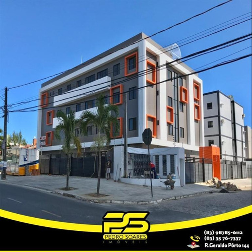 Apartamento Com 2 Dormitórios À Venda, 49 M² Apartir De R$ 169.900 - Jardim Cidade Universitária - João Pessoa/pb - Ap2287