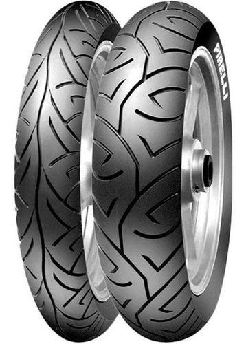 Kit X 2 Cubiertas Pirelli 110 80 17 + 130 70 17 Sport Demon